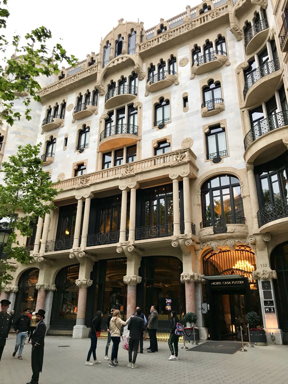 Hotel Casa Fuster Dine In 5 Luxury At Galaxó Barcelona