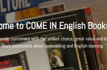 come in english bookshop barcelona
