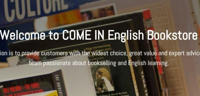 Literature and Language at the Come In English Bookshop in Barcelona
