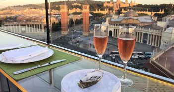 Dine in the Heavens on Catalonia Barcelona Plaza Hotel's Rooftop