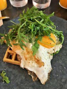 Waffle egg