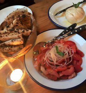 Moza and tomato
