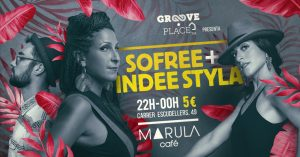 SOFREE and Indee Styla at the Marula Cafe