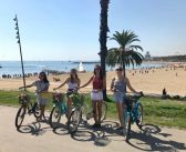Bike tour of Barcelona with an English speaking guide