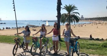 Bike tours in Barcelona with an English speaking guide
