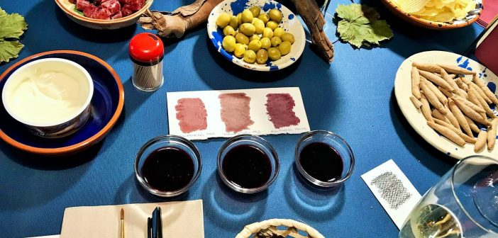 Tinta i Vi – Painting with Wine (literally!)