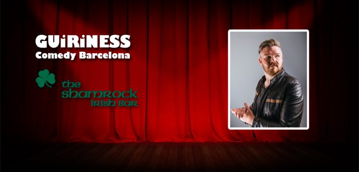 Barcelona comedy show with Chris Purchase