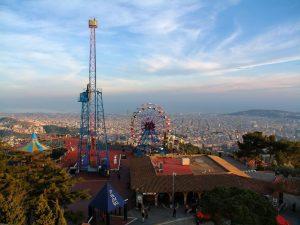 Best free viewpoints in Barcelona