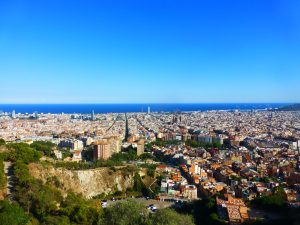 Best free viewpoints in Barcelona