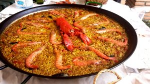 Spanish food in Barcelona