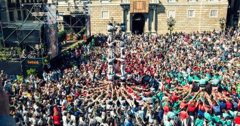 the major party of Sant Martí and the Verneda in Barcelona