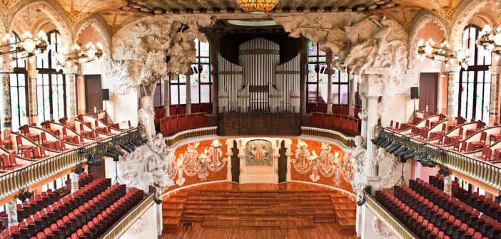 Top 5 Theatres in Barcelona