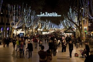 celebrate Christmas in Barcelona
