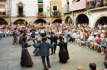 Sardana dance in Barcelona