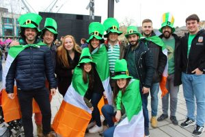 Saint Patrick's Day in Barcelona