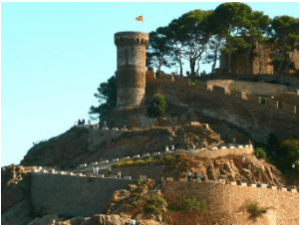 Castle of Tossa de Mar