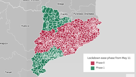 COVID-19: Spain's four-phase plan in Barcelona